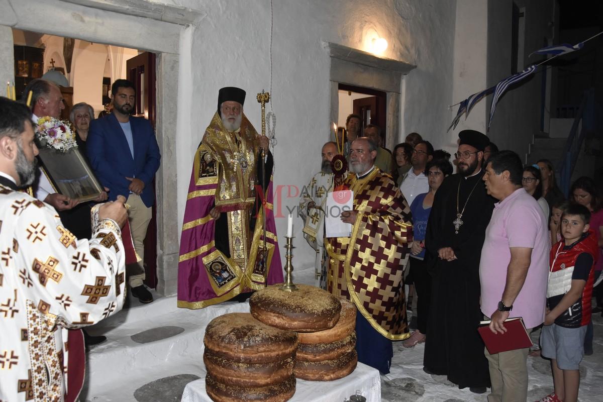 (vids&pics)Ο Σεβασμιώτατος κ. Δωρόθεος Β' χοροστάτησε στον εόρτιο εσπερινό, που τελέσθηκε στον πάλαι ποτέ Μητροπολιτικό Ναό της Αγίας Ελένης