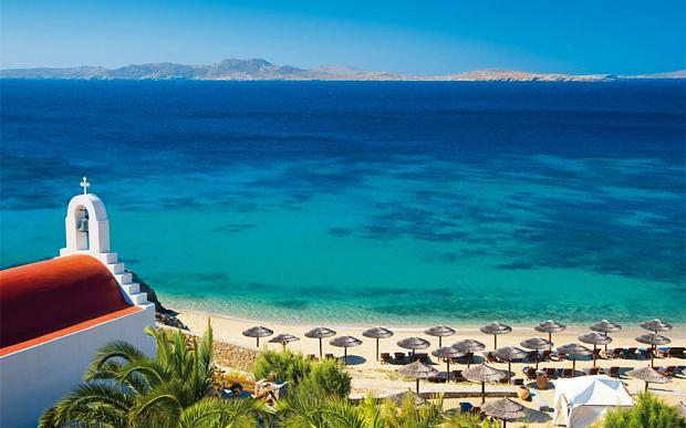 Ξενοδοχείο της Μυκόνου ανάμεσα στα 10 καλύτερα παραλιακά ξενοδοχεία στην Ελλάδα σύμφωνα με την αγγλική telegraph