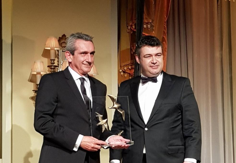 Βραβείο στον Γ. Χατζημάρκο για την κατάκτηση του τίτλου «Νότιο Αιγαίο: Γαστρονομική Περιφέρεια της Ευρώπης 2019»