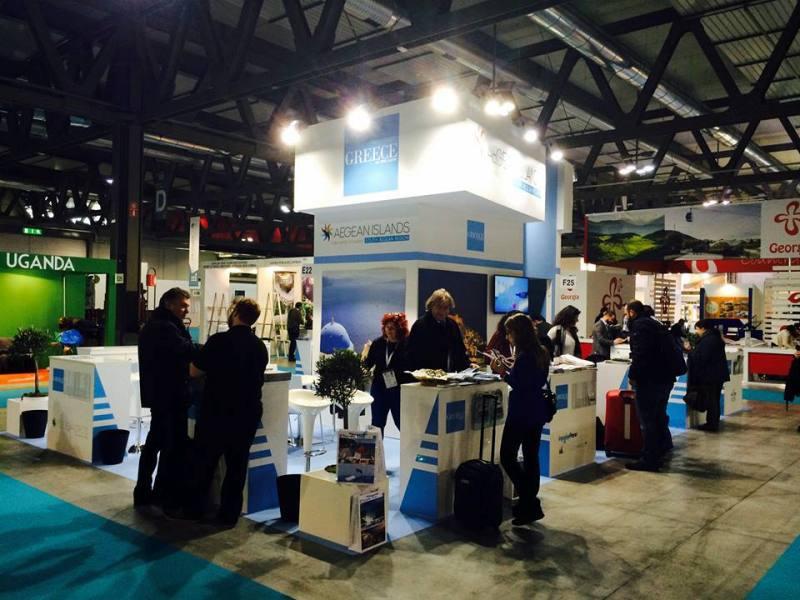 Πετυχημένη η παρουσία της ΠΝΑΙ στην ΒΙΤ στο Μιλάνο και στην Grekland Panorama στη Στοκχόλμη