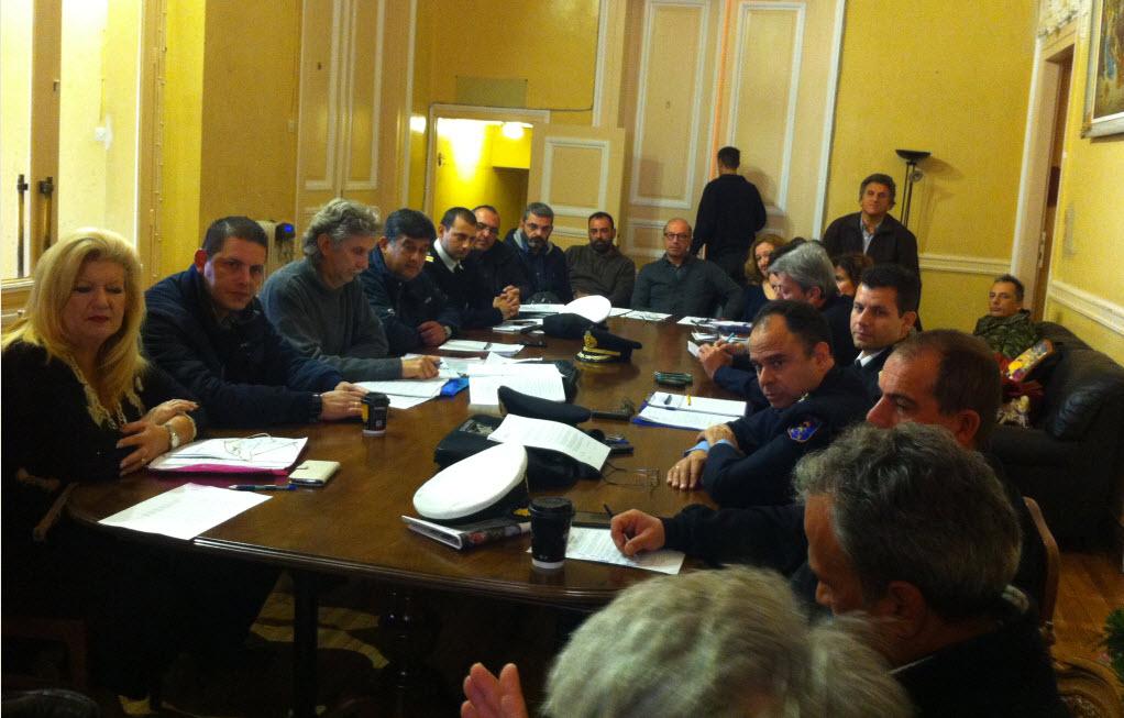 Συνεδρίαση του Σ.Ο. Πολιτικής Προστασίας Κυκλάδων για την έγκαιρη αντιμετώπιση των κινδύνων του χειμώνα