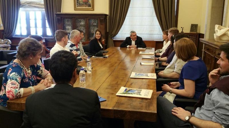 Συνάντηση Περιφερειάρχη με Βρετανούς tour operators και δημοσιογράφους