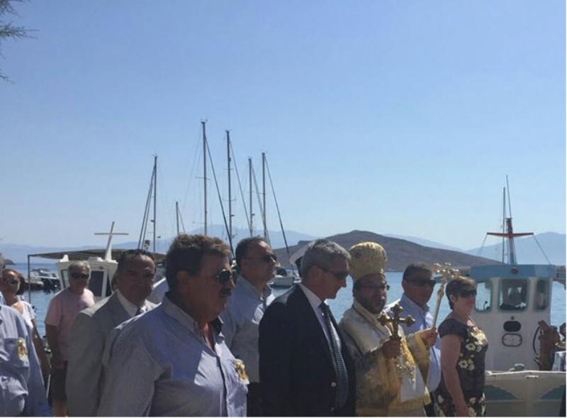 Επίσκεψη του Προέδρου του Φυτωρίου κ. Μπαριανάκη  στην Χάλκη