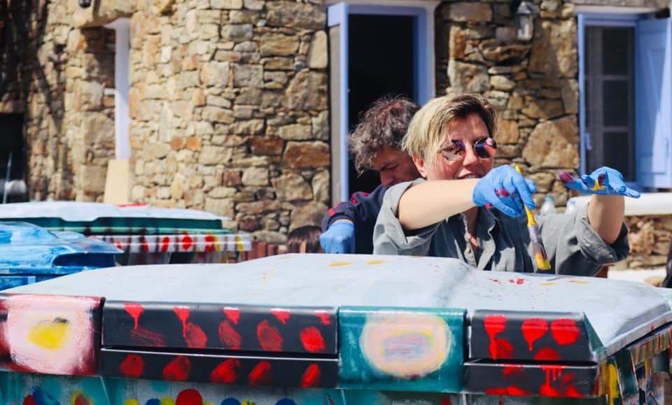 (φωτο) Εντυπωσιακή η συμμετοχή της Μυκόνου στη δράση Let's Do It Greece