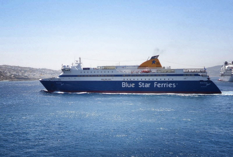 Αλλαγή δρομολογίου του Blue Star Ithaki σήμερα αντί για Πειραιά, θα προσεγγίση Σάμο, Ικαρία
