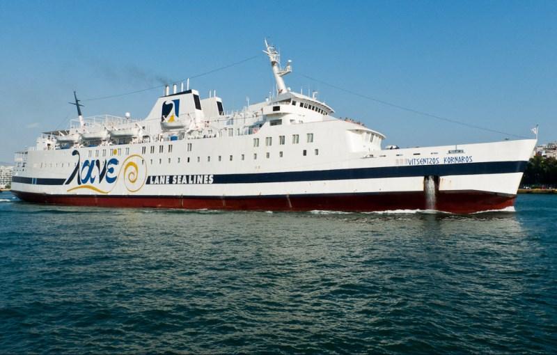 Μεταφορά ειδών πρώτης ανάγκης από την Περιφέρεια Νοτίου Αιγαίου  στο πλοίο «Βιτσέντζος Κορνάρος»