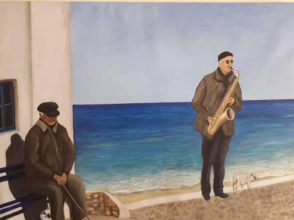 Εκθέσεις ζωγραφικής στη δημοτική πινακοθήκη Μυκόνου «Μαρία Ιγγλέση»