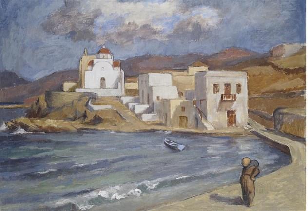 Η Μύκονος στο Μουσείο Μπενάκη μέσα από έργα του Δημήτρη Δάβη