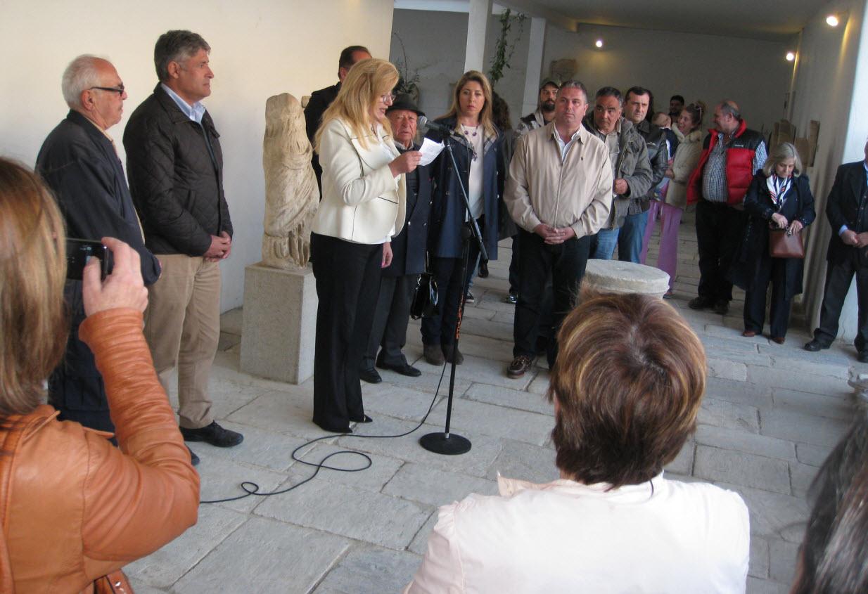 Εκδήλωση πολιτισμού στο Αρχαιολογικό Μουσείο με αφορμή το νέο ωράριο της Δήλου