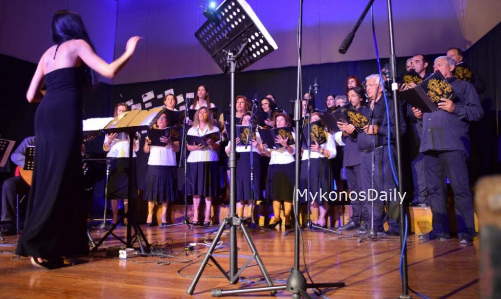 Η Χορωδία Μυκόνου ταξιδεύει με την «Οδός Ονείρων»
