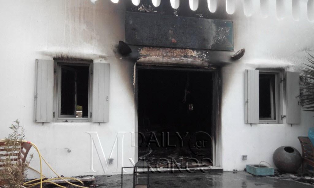 Καταστράφηκε ολοσχερώς από την φωτιά το κατάστημα στο Βουγλί