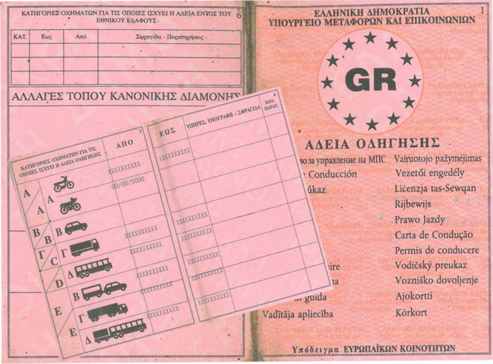 Προσωρινό δίπλωμα οδήγησης από τη μέρα της εξέτασης