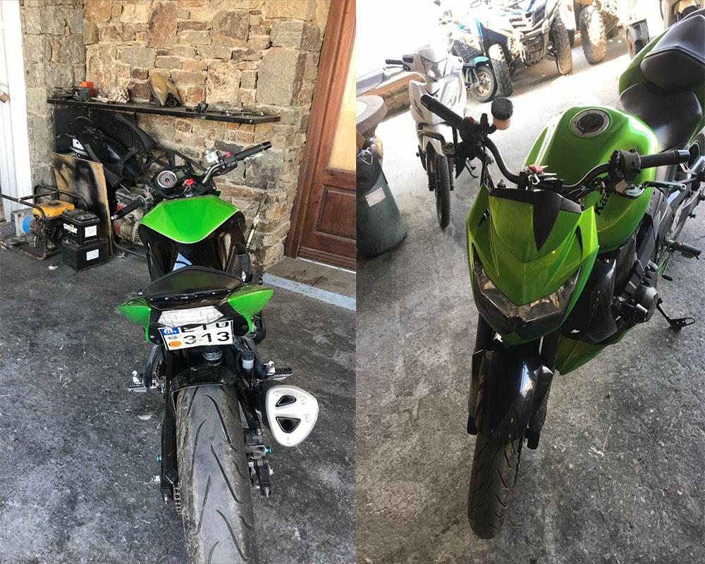 Πωλείται μηχανή Kawasaki σε άριστη κατάσταση