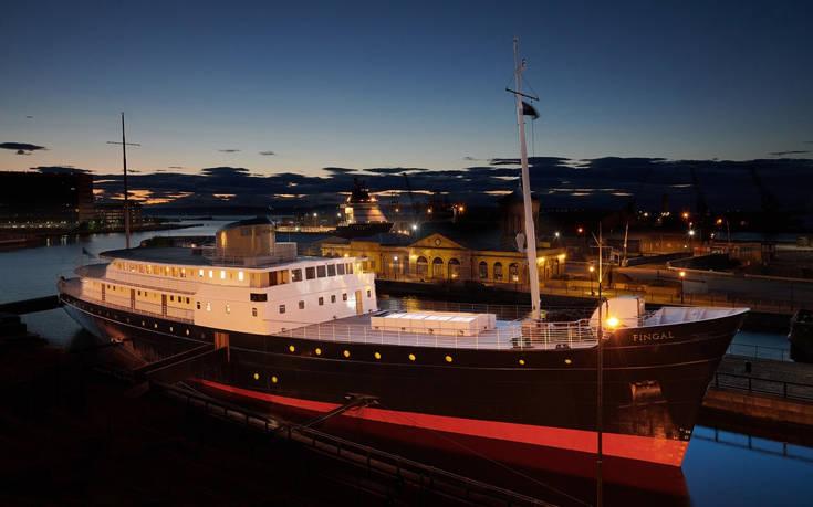 Το πλωτό ξενοδοχείο του Εδιμβούργου, ό,τι πιο «καυτό» στον luxury τουρισμό