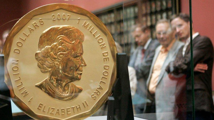 Πώς τρία παιδιά έκλεψαν το μεγαλύτερο χρυσό νόμισμα του κόσμου