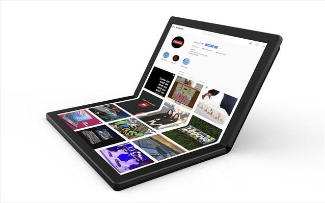 H Lenovo παρουσιάζει το ThinkPad X1 Fold, το πρώτο Foldable PC