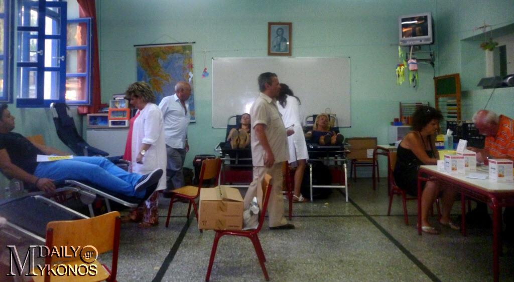 Ο ροταριανός όμιλος Πάρνηθας τιμά την Μυκονιάτικη Αλληλεγγύη