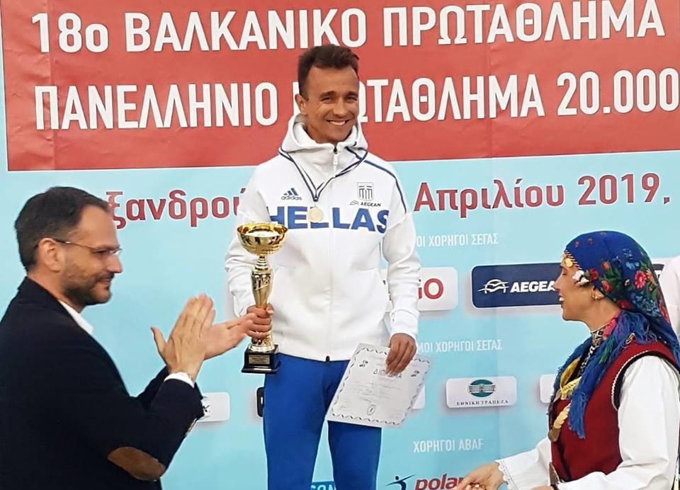 Πανελληνιονίκης για 10η συνεχόμενη χρονιά ο Αλέξανδρος Παπαμιχαήλ