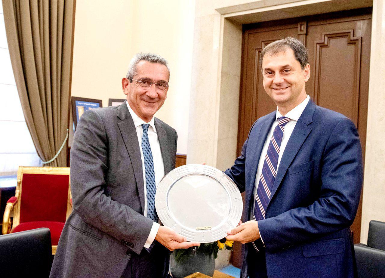 Η ηγεσία του Υπουργείου Τουρισμού στην Περιφέρεια Ν. Αιγαίου