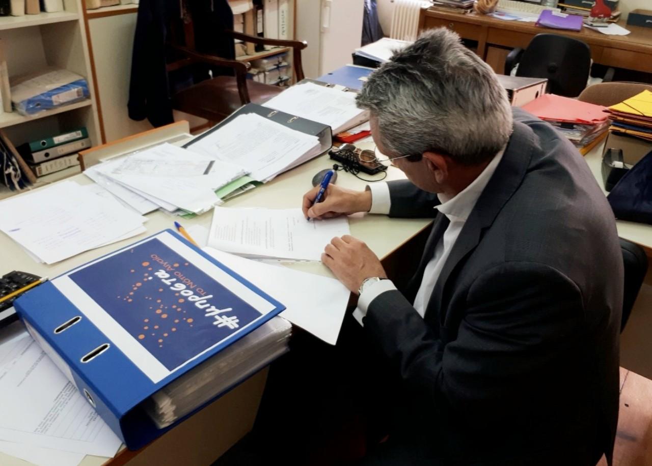 Κατάθεση συνδυασμού «Μπροστά το Νότιο Αιγαίο» του Γ. Χατζημάρκου