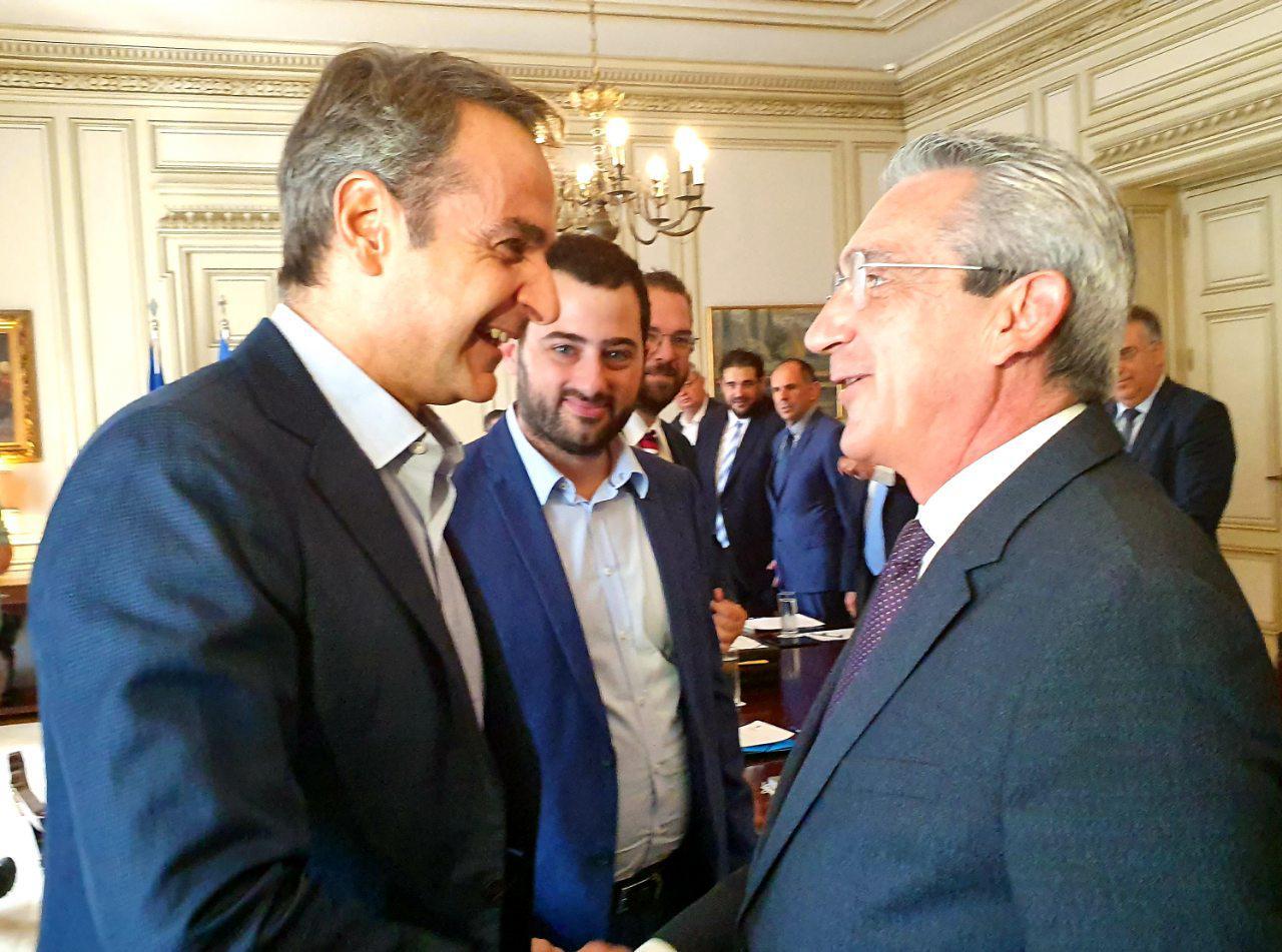 Συνεργασία των Περιφερειαρχών με τον Πρωθυπουργό