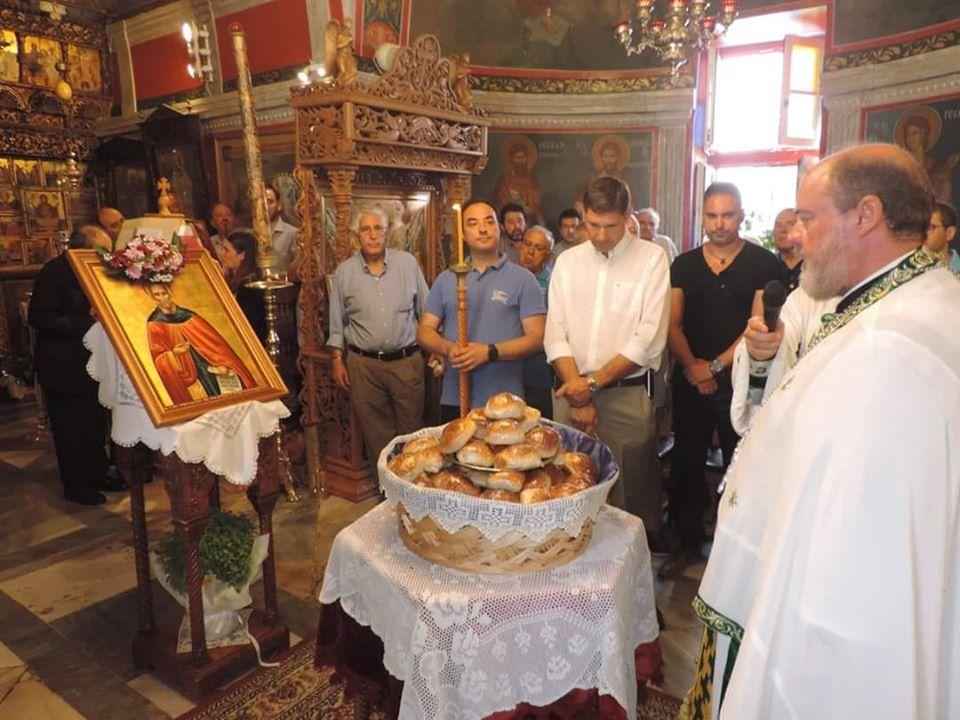 Την Κυριακή θα τελεσθεί αρτοκλασία στην μνήμη του Αγίου Σαμψών