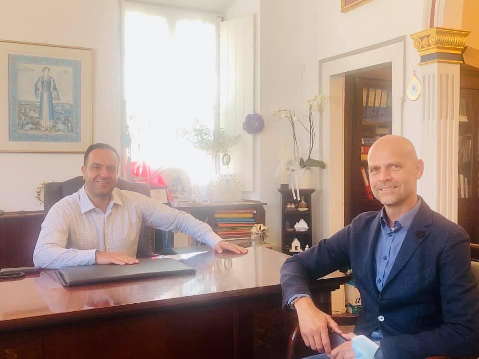 Συνάντηση του Δήμαρχου Μυκόνου με τον Διευθύνοντα Σύμβουλο της Fraport Greece