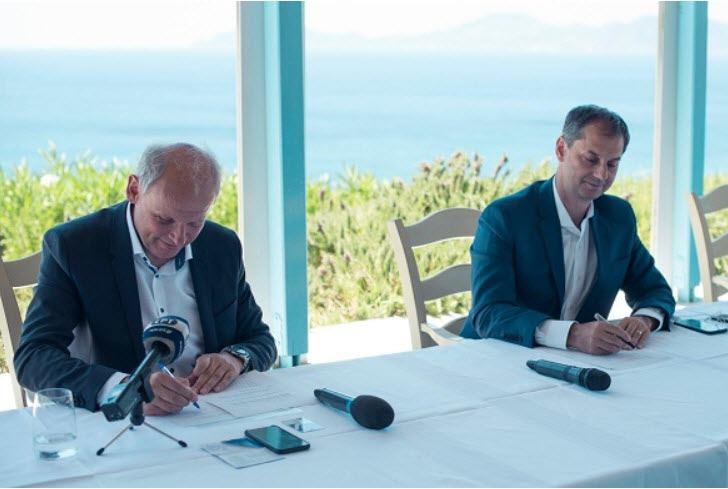 Στρατηγική συμφωνία Θεοχάρη με TUI: Κοινός στόχος να φέρει στην Ελλάδα το 50% που είχε φέρει ο όμιλος το 2019
