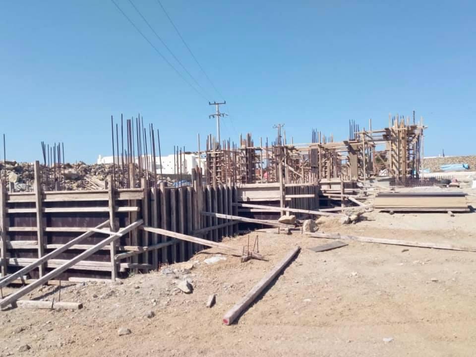 Με ταχείς ρυθμούς προχωράει η κατασκευή του πρώτου βρεφονηπιακού σταθμού του Δήμου Μύκονου