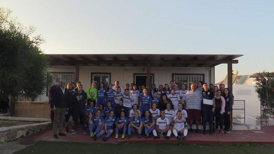 Φιλική νίκη για την Γυναικεία ομάδα της Α.Ε. Μυκόνου απέναντι στον Διαγόρα Ικαρίας
