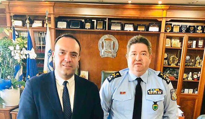 Με το νέο αρχηγό της Ελληνικής Αστυνομίας συναντήθηκε ο Δήμαρχος Μυκόνου