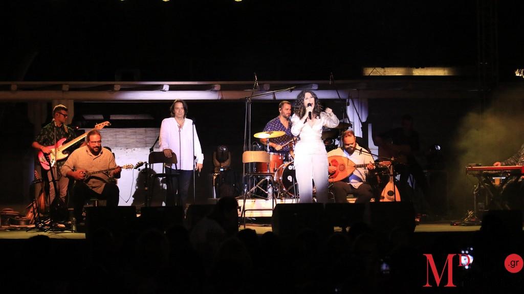 Ελευθερία Αρβανιτάκη - Γιάννης Κότσιρας «μάγεψαν» στη σκηνή του MykonosArtFestival