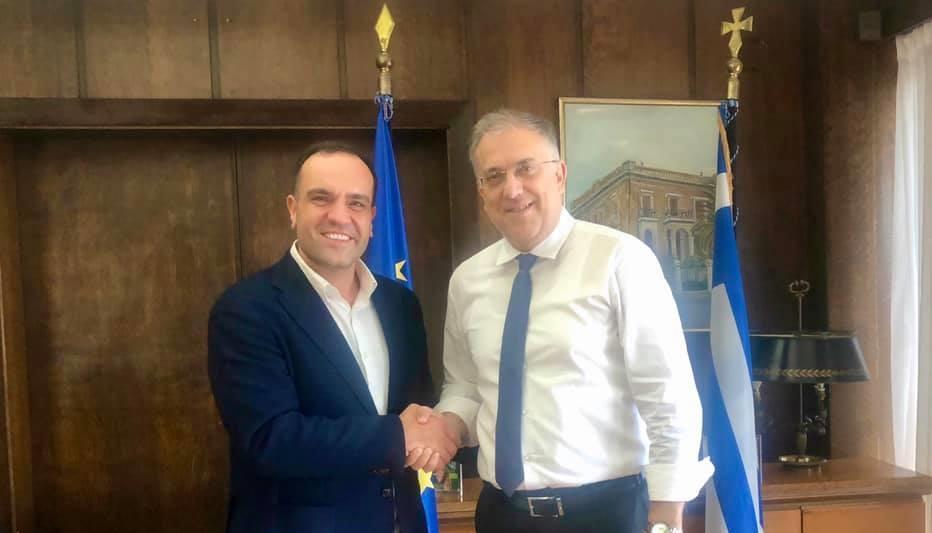 Στο υπουργείο Εσωτερικών ο Δήμαρχος Μυκόνου, Κωνσταντίνος Κουκας