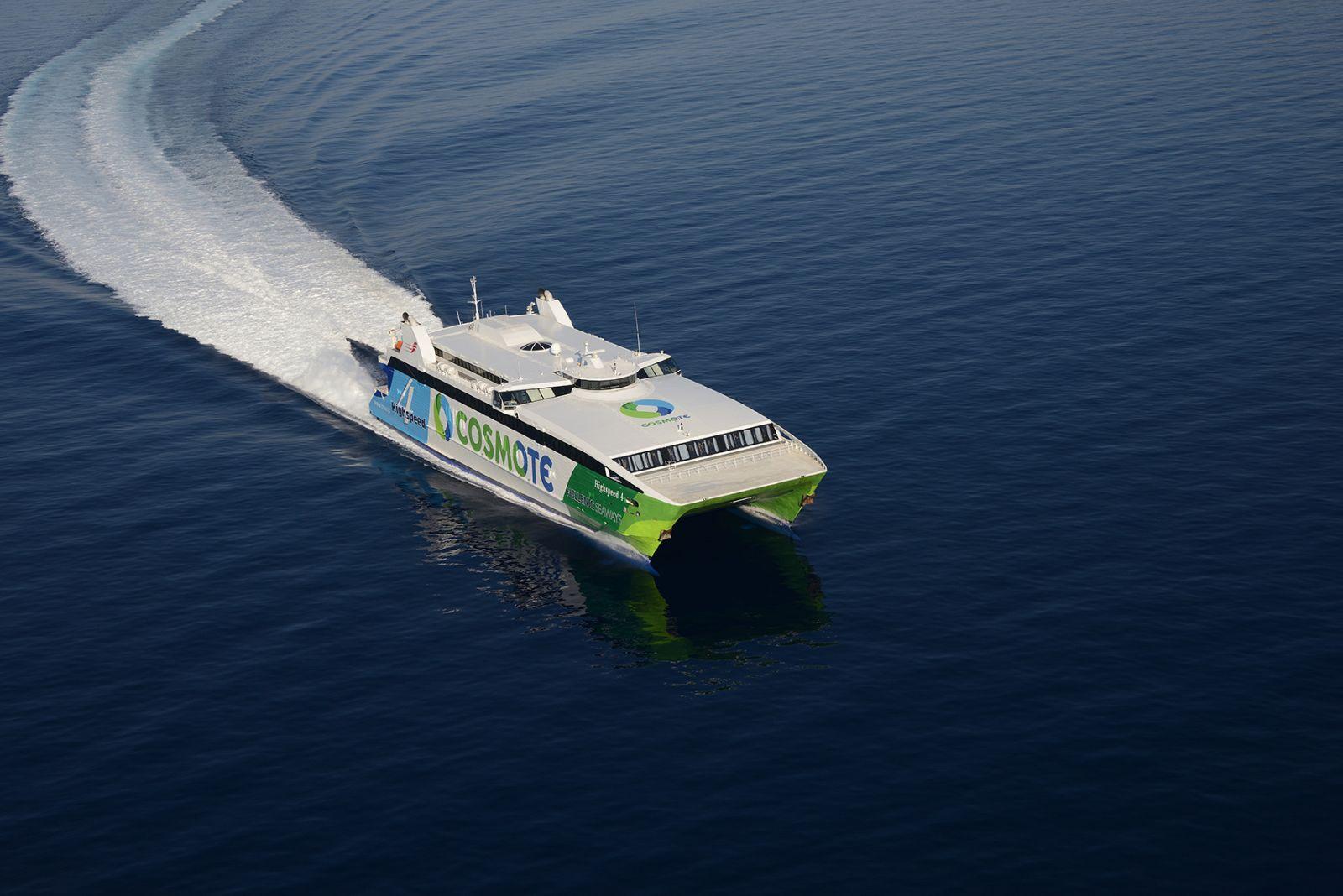 Διαμαρτυρίες στο λιμάνι του Πειραιά για την καθυστέρηση του High Speed 4