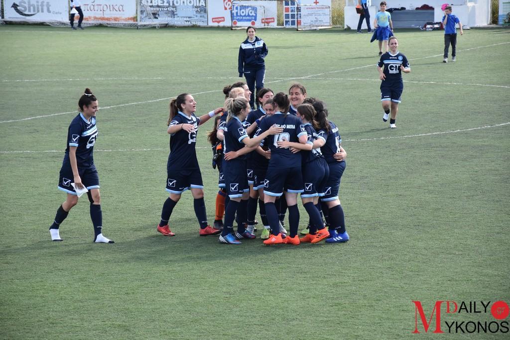 Νίκη με σκορ 1-0 για την Γυναικεία ομάδα της Άνω Μεράς