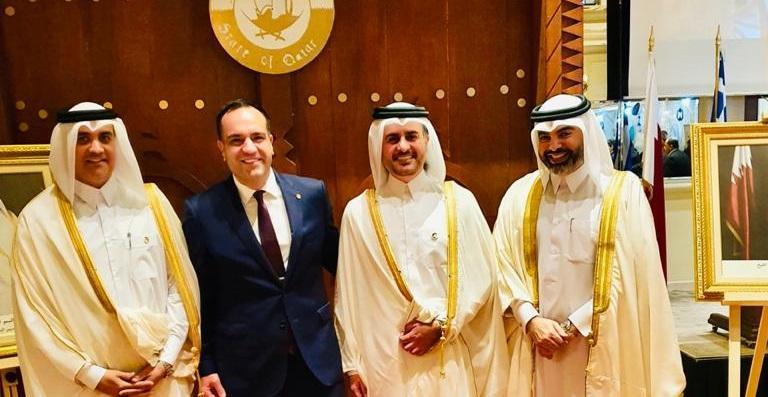 Σε εκδήλωση της Πρεσβείας του Κατάρ ο δήμαρχος Μυκόνου