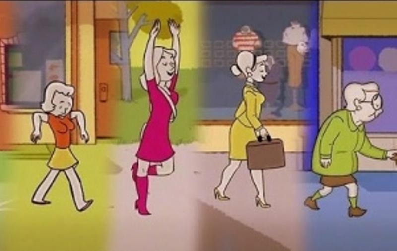 Sidewalk, η ζωή της γυναίκας σε animation