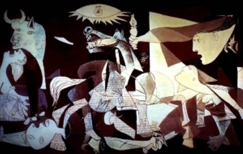 H Guernica του Πικάσο σε 3D animation