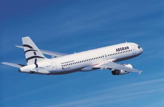 Ακυρώσεις και τροποποιήσεις πτήσεων της Aegean και της Olympic Air στις 25, 26 και 27 Νοεμβρίου