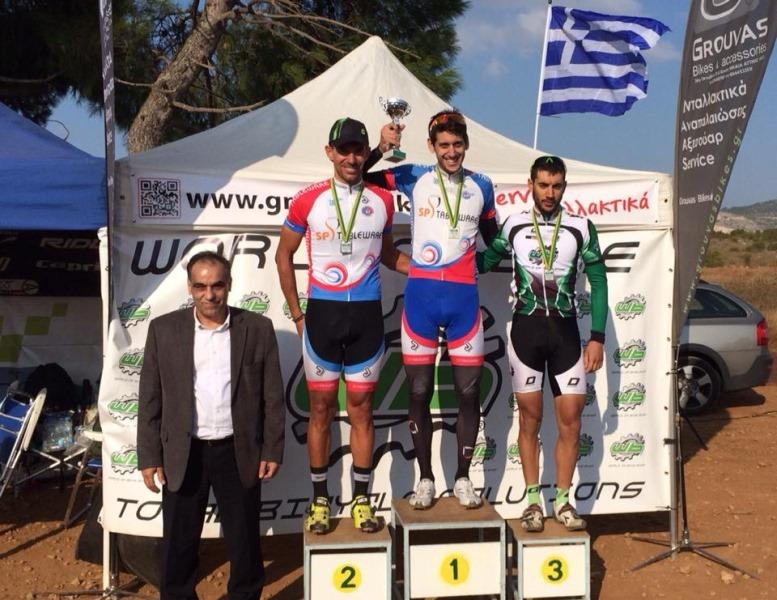 2ος ο ποδηλάτης Γ. Δάντος στο Αττικό κύπελλο silverback