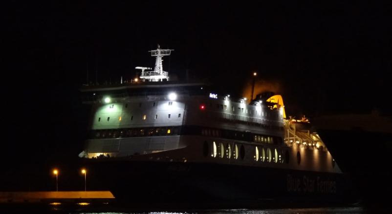 Πήδηξε από το Blue Star 2 στην παγωμένη θάλασσα – Νεότερη ενημέρωση για τις έρευνες