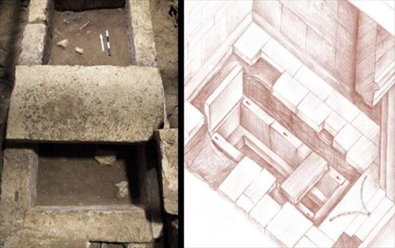 Αμφίπολη: Βρέθηκε τάφος και σκελετός στον τρίτο θάλαμο