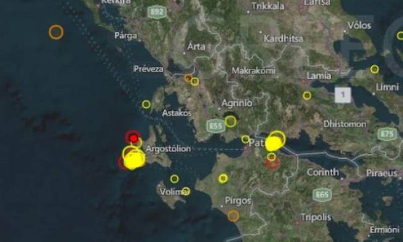 Νέος σεισμός στην Κεφαλονιά