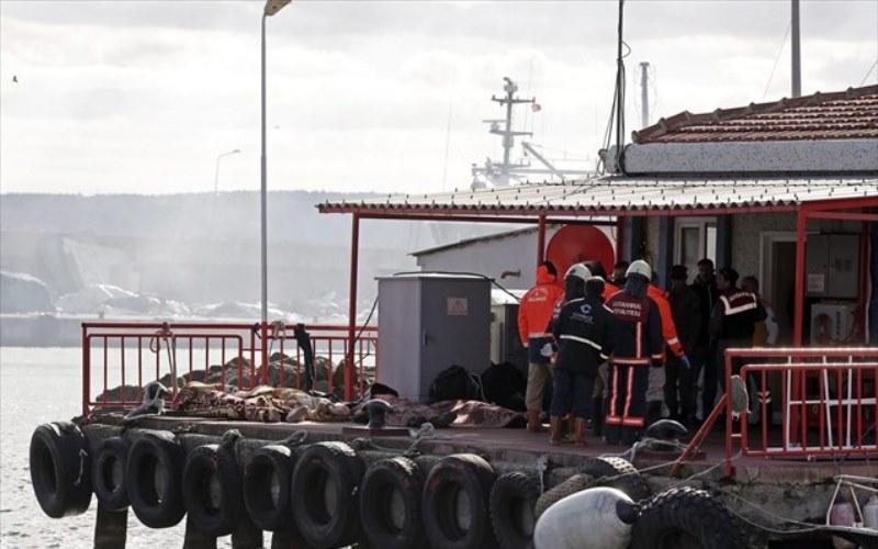 Τουρκία: Τους 24 έφθασαν οι νεκροί από το ναυάγιο μεταναστών στον Βόσπορο