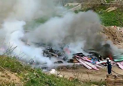 (video) Συμβαίνει τώρα: Μεγάλη φωτιά στα Καστελλάκια