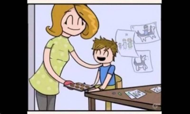 Μια θλιβερή ιστορία αγάπης σε ένα τρίλεπτο βίντεο animation!