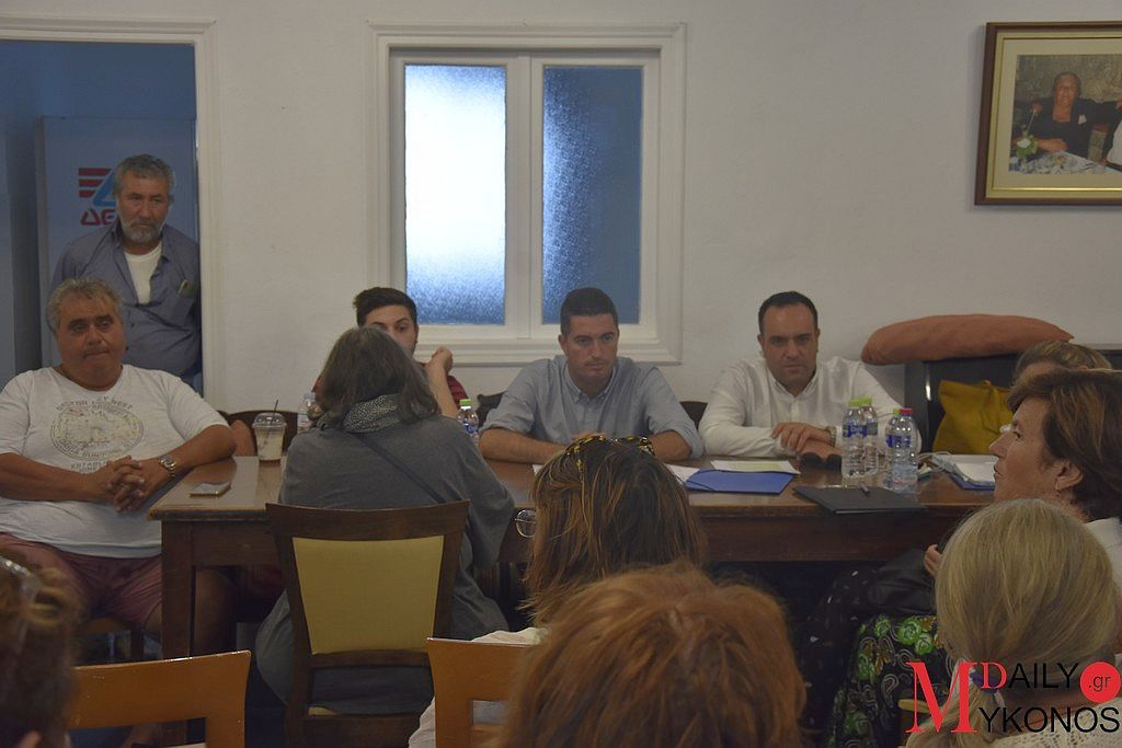 (pics) Πραγματοποιήθηκε το πρώτο συμβούλιο για την Κοινότητα της Άνω Μεράς