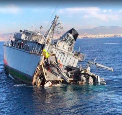 Σύγκρουση πλοίων στον Πειραιά: Ρυμουλκείται το «Καλλιστώ» - Τραυματίες δύο μέλη του πληρώματος