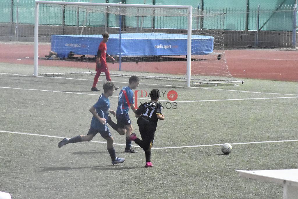 K15: Α.Ο. Μυκόνου - Ανδριακός Ο.Φ. 3-0 (Highlights)