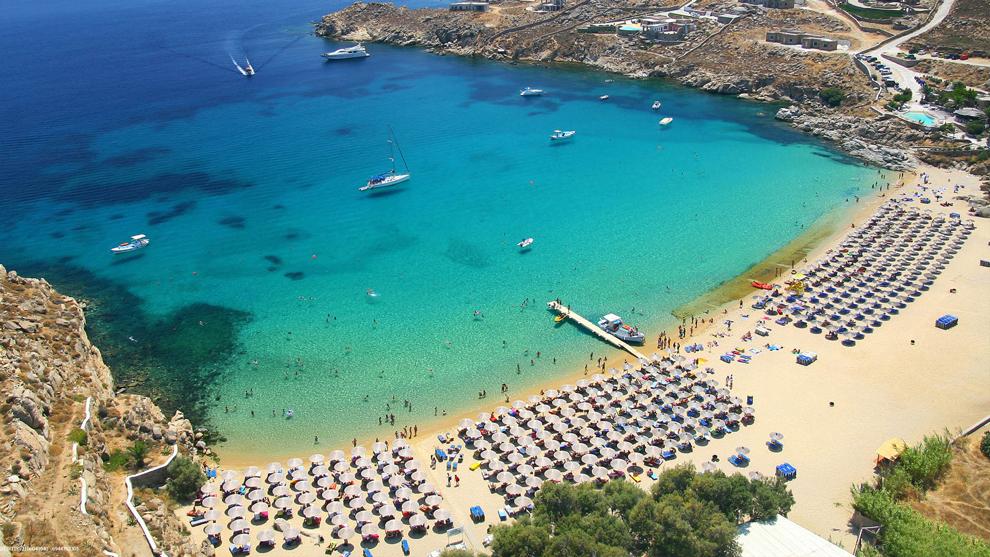 Ανακοίνωση του Δήμου Μυκόνου για τις παραλίες